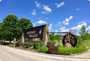 Hidden Valley lake Front Entrance